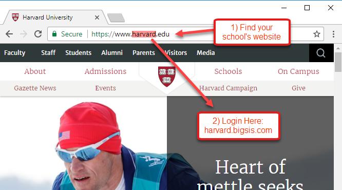 find-BigSIS-login-page